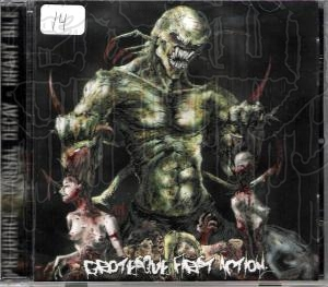 COMP: GROTESQUE FIRST ACTION - 3 Way Split C.D.