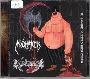 AUDIORREA / MIXOMATOSIS - Split C.D.