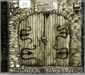 CHURCH BIZARRE - Sinister Glorification (Deluxe CD)