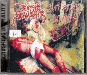 BLESSED SLAUGHTER / INFIRIOR CONCHA - Split C.D.
