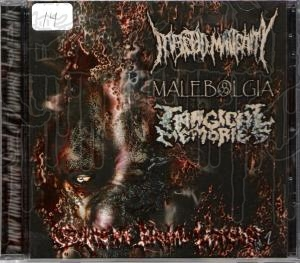 INFECTED MALIGNITY / MALEBOLGIA/TRAGICAL MEMORIES -