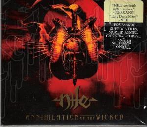 NILE - Annihilation Of The Wicked (Digi-pak)