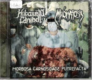HOLOCAUSTO CANIBAL / MIXOMATOSIS - Split C.D.