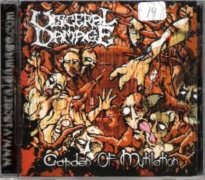 VISCERAL DAMAGE - Garden Of Mutilation
