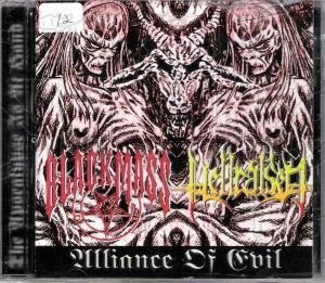BLACK MASS / HELLRAISED - Split C.D.