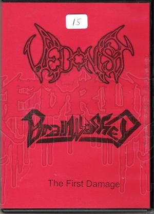 VEDONIST / BRAINWASHED - The First Damage (Limited Edition C.D. In DVD cASE)