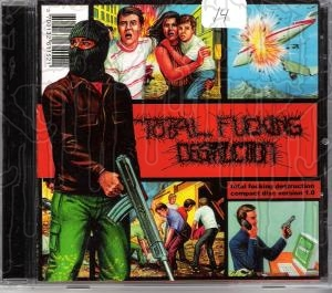 TOTAL FUCKING DESTRUCTION - Compact Disc Version 1
