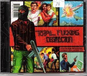 TOTAL FUCKING DESTRUCTION - Compact Disc Version 1