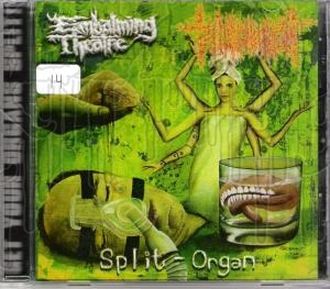 EMBALMING THEATRE / TORTURE INCIDENT - Split Organ C.D