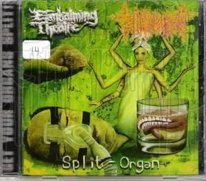 EMBALMING THEATRE / TORTURE INCIDENT - Split Organ C.D