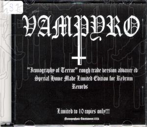 VAMPYRO - Iconography Of Terror (Advance Copy)
