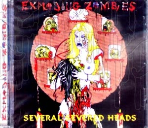 EXPLODING ZOMBIES - Several Severed Heads