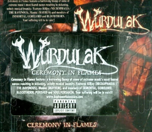 WURDULAK - Ceremony In Flames
