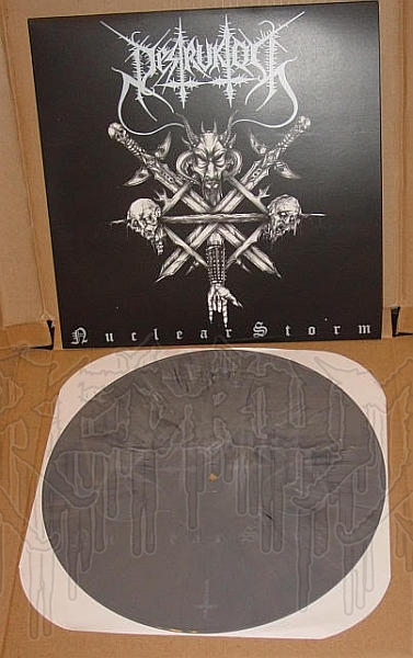 "DESTRUKTOR - Nuclear Storm  (12"" MLP w/ Poster - SINGLE SIDED - ETCHED RECORD)"