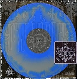 "KYTHRONE - Kult Des Todes (12"" Gatefold Colored L.P. w/patch)"