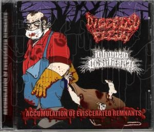 DIGESTED FLESH / INHUMAN DISSILIENCY - Split C.D.