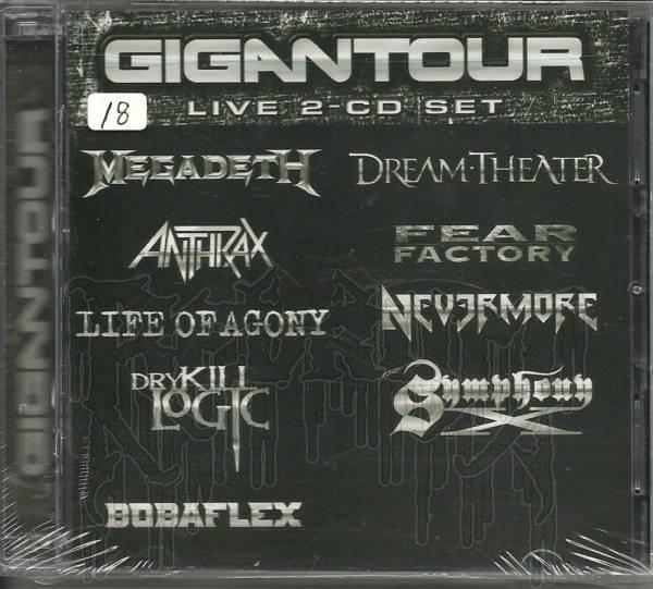 COMP: GIGANTOUR - Live 2 - C.D. Set
