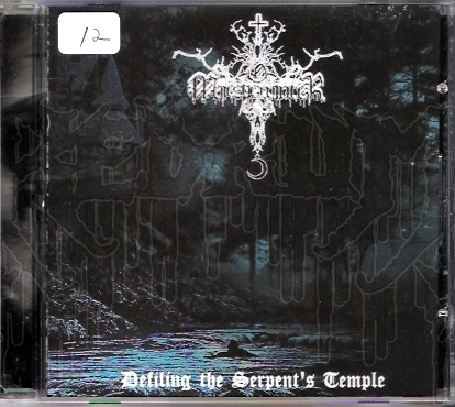 O' MAJESTIC WINTER - Defiling The Serpents Temple