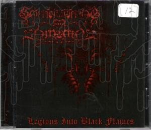 SMOULDERING IN FORGOTTEN - Legions Into Black Flames