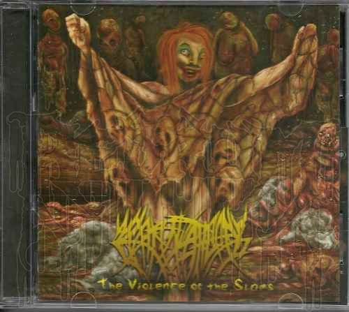 CREPITATION - The Violence Of The Slams (With Slip-cover)