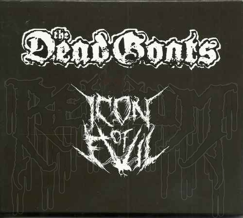 THE DEAD GOATS / ICON OF EVIL - Split CD (With Slipcover)