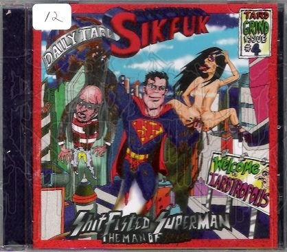 SIKFUK - Shitfisted Superman... The Man of Stool