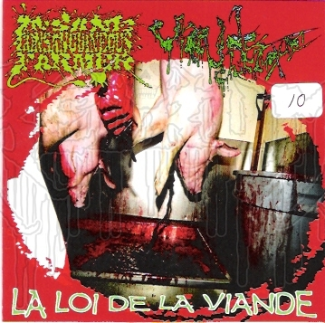 INSANE CONSANGUINEOUS FARMER / VIANDE CHIMIQUE - Split C.D.