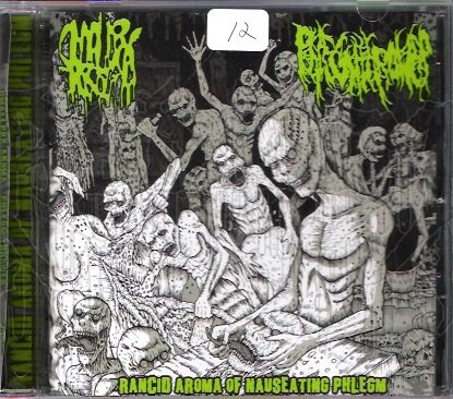 SMALLPOX AROMA / PHLEGM THROWER - Split C.D.