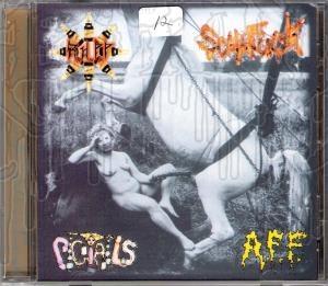 RxHxPxPx / SCUMFUCK / PIGTAILS / A.F.F. - 4 - Way split C.D.