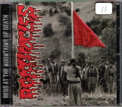 AGATHOCLES - Reds At The Mountains Of Death