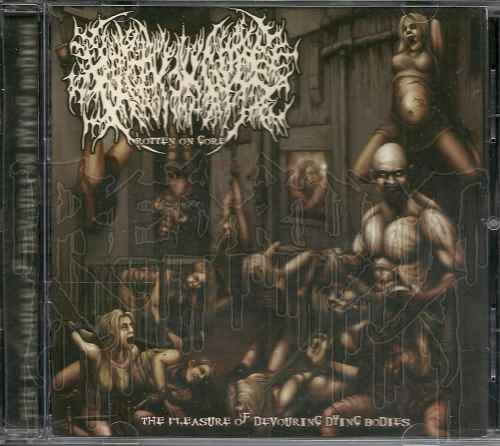 ROTTEN ON GORE - The Pleasure Of Devouring Dying Bodies (MCD)