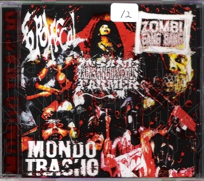 COMP: MONDO TRASHO 3 - Way Split C.D