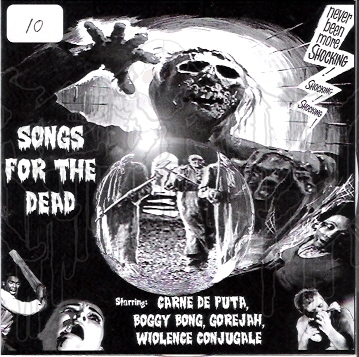 COMP: SONGS FOR THE DEAD 4 - Way Split C.D.