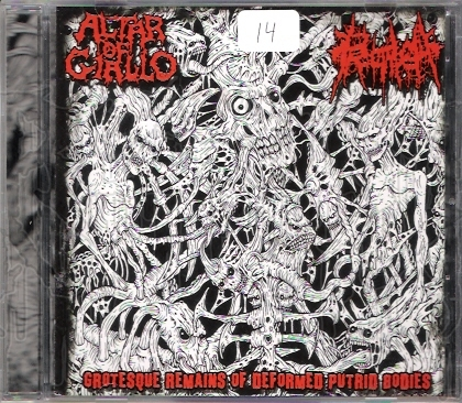 ALTAR OF GIALLO / PROCTALGIA - Split C.D.