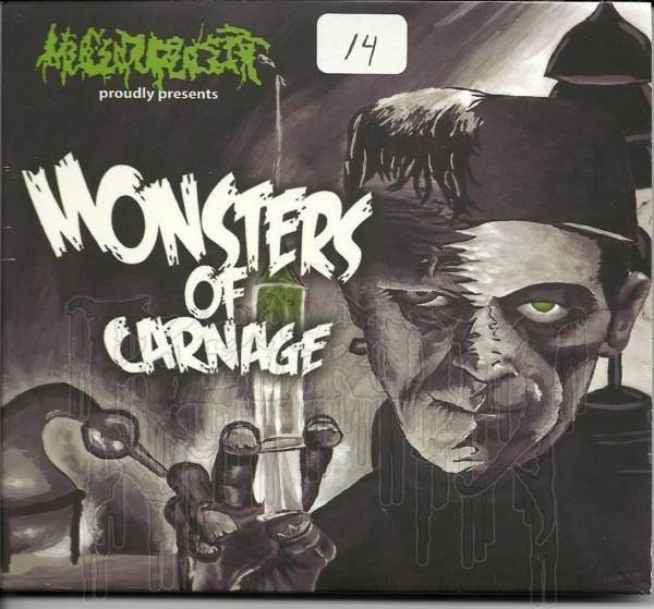 MUCUPURULENT - Monsters Of Carnage (Digi - pak)