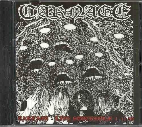 CARNAGE (Swe.) - Live In Stockholm,1989