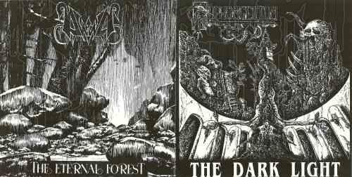 PYPHOMGERTUM / DAWN (Swe.) - Split CD (Reissue)