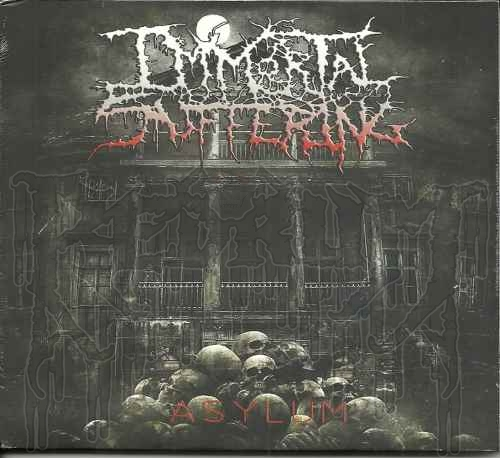 IMMORTAL SUFFERING - Asylum (Digi-pak)