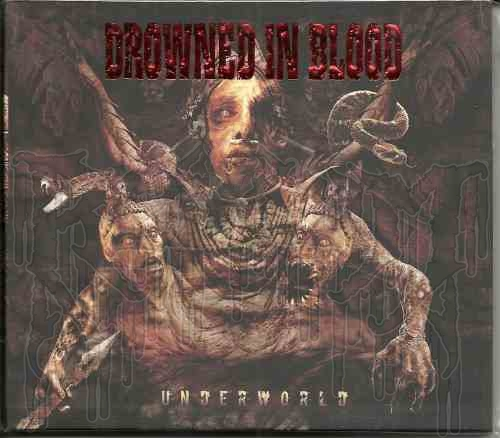 DROWNED IN BLOOD-Underworld  (Digi -pak)
