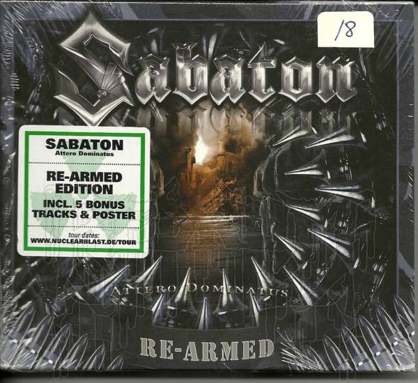 SABATON - Attero Dominatus (Re - armed Edition)