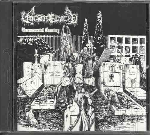 UNCONSECRATED-Unconsecrated Cemetery / Dark Awakening