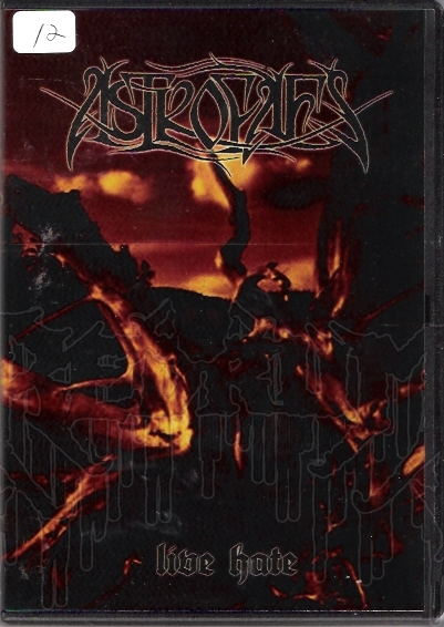 ASTROFAES - Live Hate (DVD)