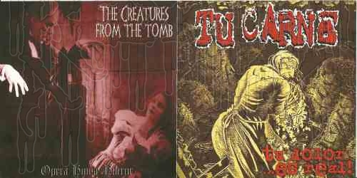 TU CARNE / THE CREATURES FROM THE TOMB-Split MCD