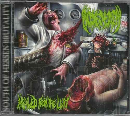 BÖSEDEATH - Impaled From The Left
