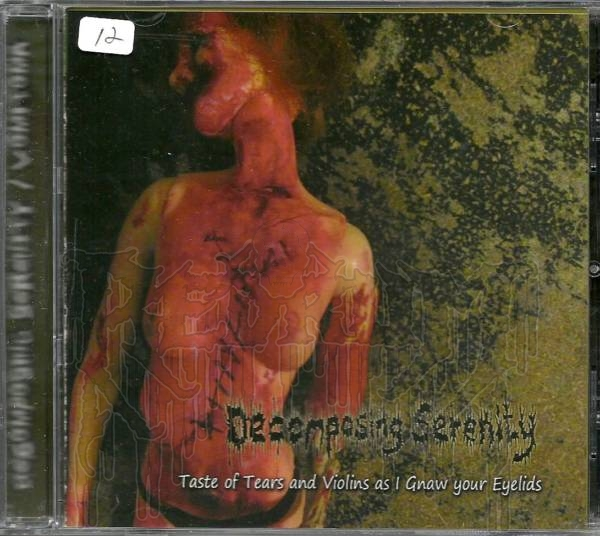 DECOMPOSING SERENITY / VOMITOMA - Split CD
