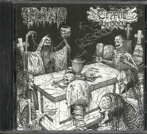"GRAVEYARD GHOUL / CRYPTIC BROOD - Split C.D. ""The Graveyard Brood"""