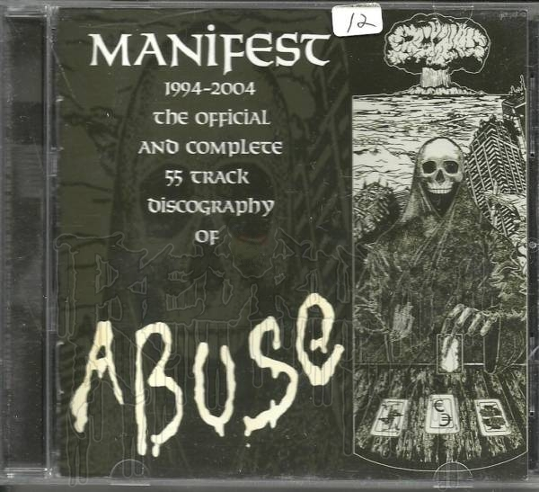 Manifest 1994 - 2004 - Ten Years Of Abuse - Discography C.D.