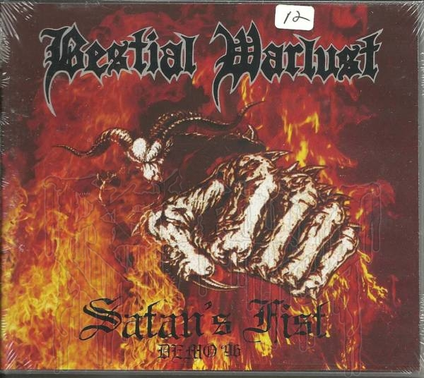 BESTIAL WARLUST - Satans Fist (MCD)