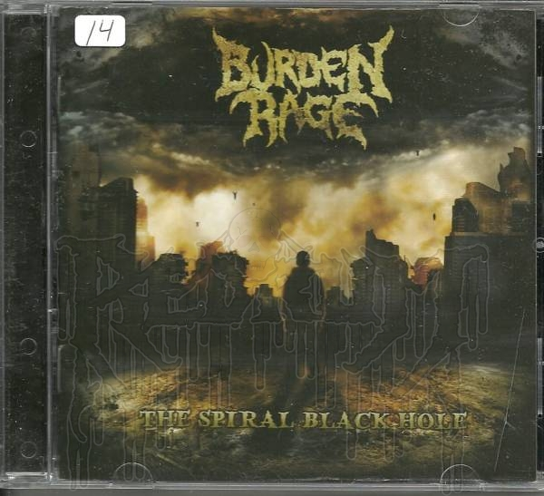 BURDEN RAGE - The Spiral Black Hole