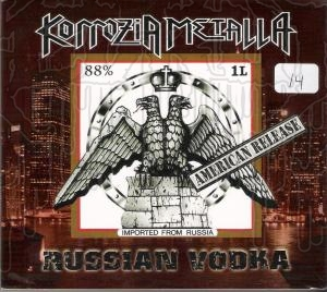 KORROZA METALLA - Russian Vodka + DVD